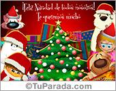 Tarjetas postales: Fiestas de diciembre