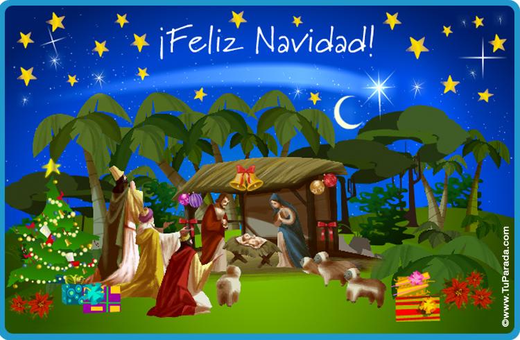 Tarjetas animadas de Navidad, postales de Navidad