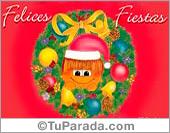Felices Fiestas con gordi