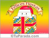 Felices Fiestas con fantasmín