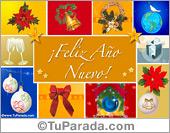 Tarjetas postales: Postal de feliz año nuevo