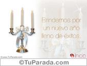 Brindemos con candelabro