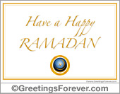Tarjetas postales: Ramadan ecards