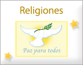 Tarjetas, postales: Religiones