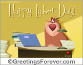 Greeting ecards: Labor Day ecard