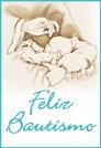 Tarjetas postales: Feliz Bautismo con bebé