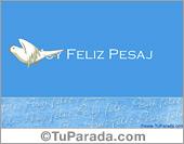 Tarjeta de feliz Pesaj