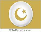 Tarjetas postales: Símbolo Islam