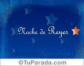 Tarjetas postales: Noche de Reyes