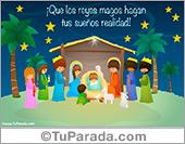 Tarjetas postales: Tarjeta para Reyes
