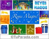 Tarjetas postales: Ecard para los Reyes Magos
