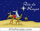 Tarjetas postales: Día de reyes