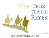 Tarjetas postales: Feliz día de reyes