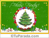 Tarjetas postales: Navidad tradicionales
