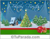 Tarjeta animada de Navidad