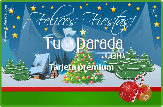 Tarjeta - Tarjeta animada de Navidad
