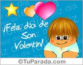 Tarjetas postales: Feliz día de San Valentín turquesa