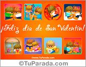 Día de San Valentín con imágenes