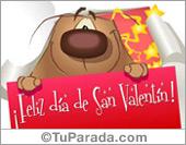 Feliz Día de San Valentín con sorpresa