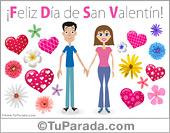 San Valentín - Tarjetas postales: Ecard de San Valentín