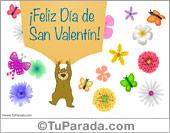 San Valentín - Tarjetas postales: Tarjeta de San Valentín