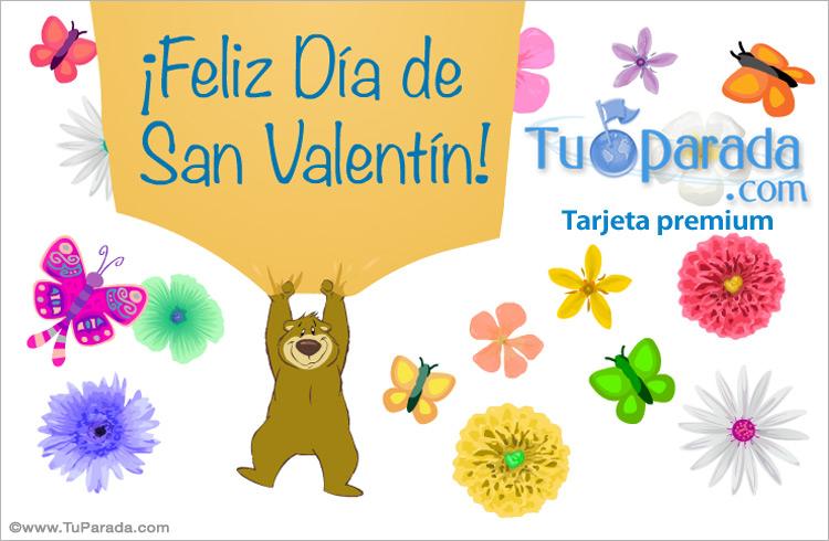 Tarjeta - Tarjeta de San Valentín
