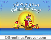 Ecards: Columbus Day