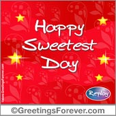 Crazy image regarding sweetest day cards printable