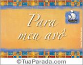 Cartões postais: Para os avôs
