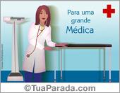 Cartão para uma grande médica