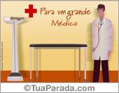 Cartão para um grande médico