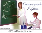 Para uma grande professora