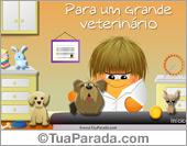 Para um veterinário