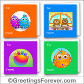 Friendship printable cards - For all devices