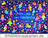 Valentinstag E-Card