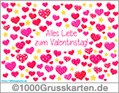 E-Card - Valentinstag with love