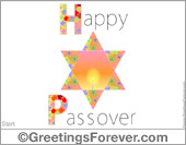 Greeting ecards: Passover