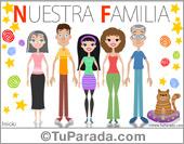Tarjetas postales: Padres, hijos y abuelos