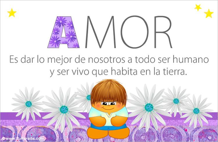 Tarjeta - Amor