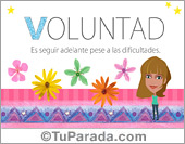 Voluntad