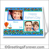 Father's day printable card - For desktop