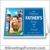 Printable card for father's day - For desktop