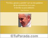 Tarjetas, postales: El Papa Francisco