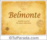 Origen y significado de Belmonte
