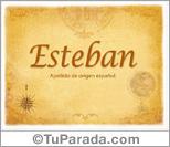 Origen y significado de Esteban