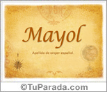 Origen y significado de Mayol
