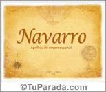 Origen y significado de Navarro