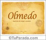 Origen y significado de Olmedo