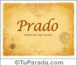 Origen y significado de Prado