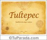 Origen y significado de Tultepec